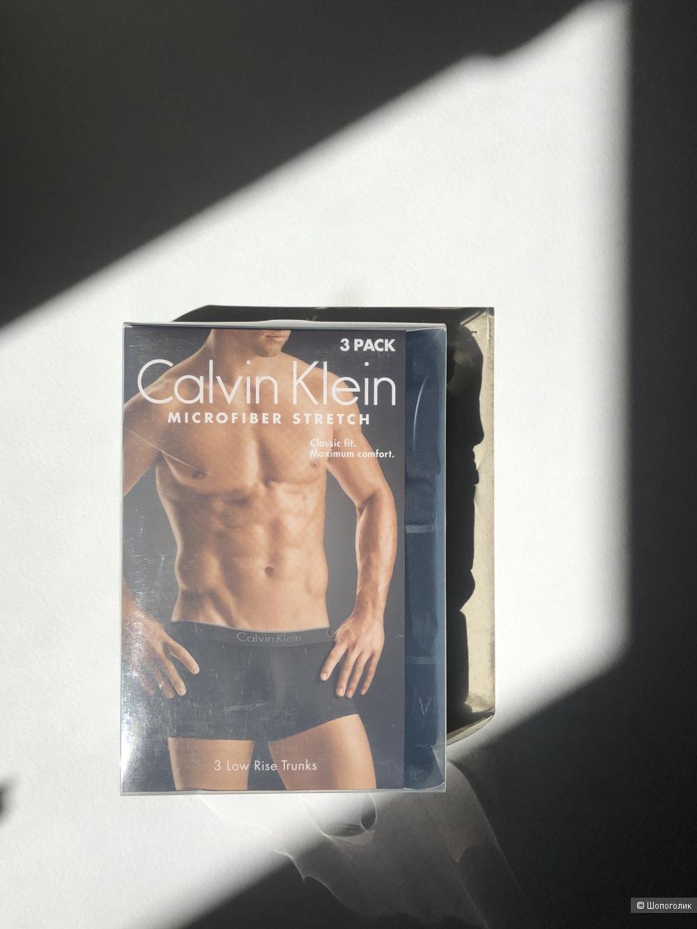 Трусы боксеры мужские упаковка из 3 штук Calvin Klein S