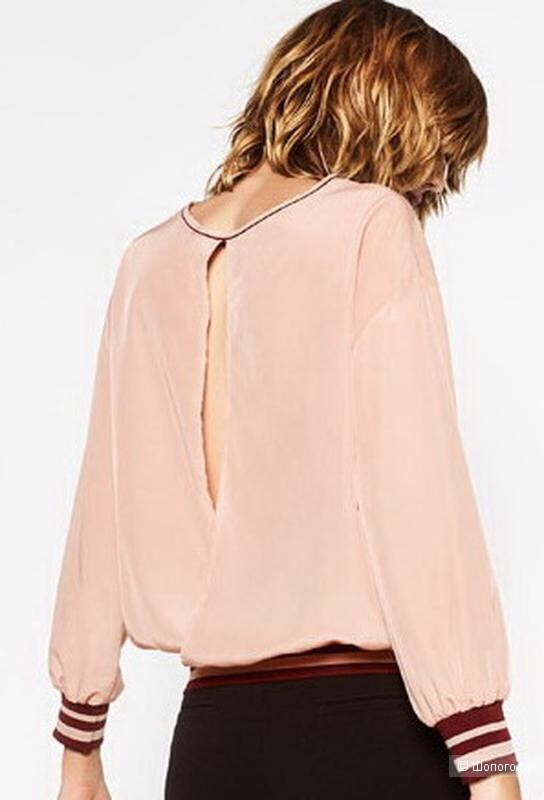 Блузка  Zara размер XS  40/42 росс