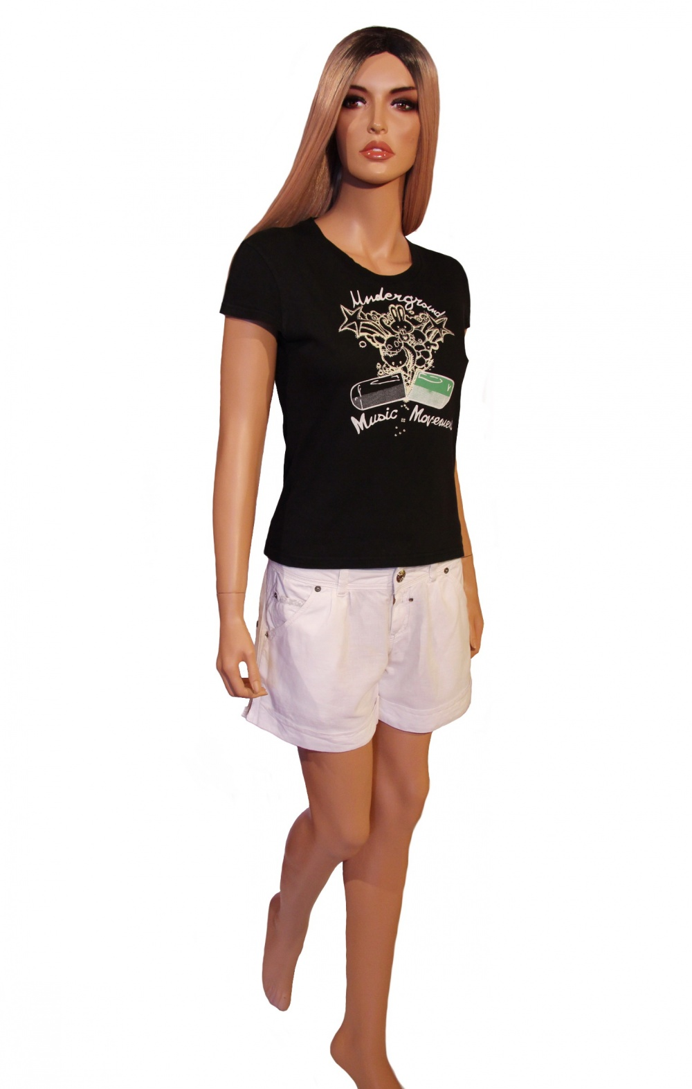 Сет из 3-х вещей: футболок  UMM (44-46(M)) и шорт FREESOUL (44-46(M))