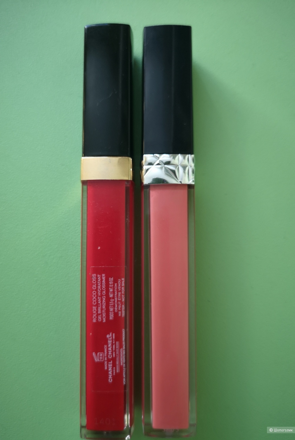 Два блеска по цене одного ROUGE COCO GLOSS 756 Chilli+ROUGE DIOR BRILLANT 808 Victoria
