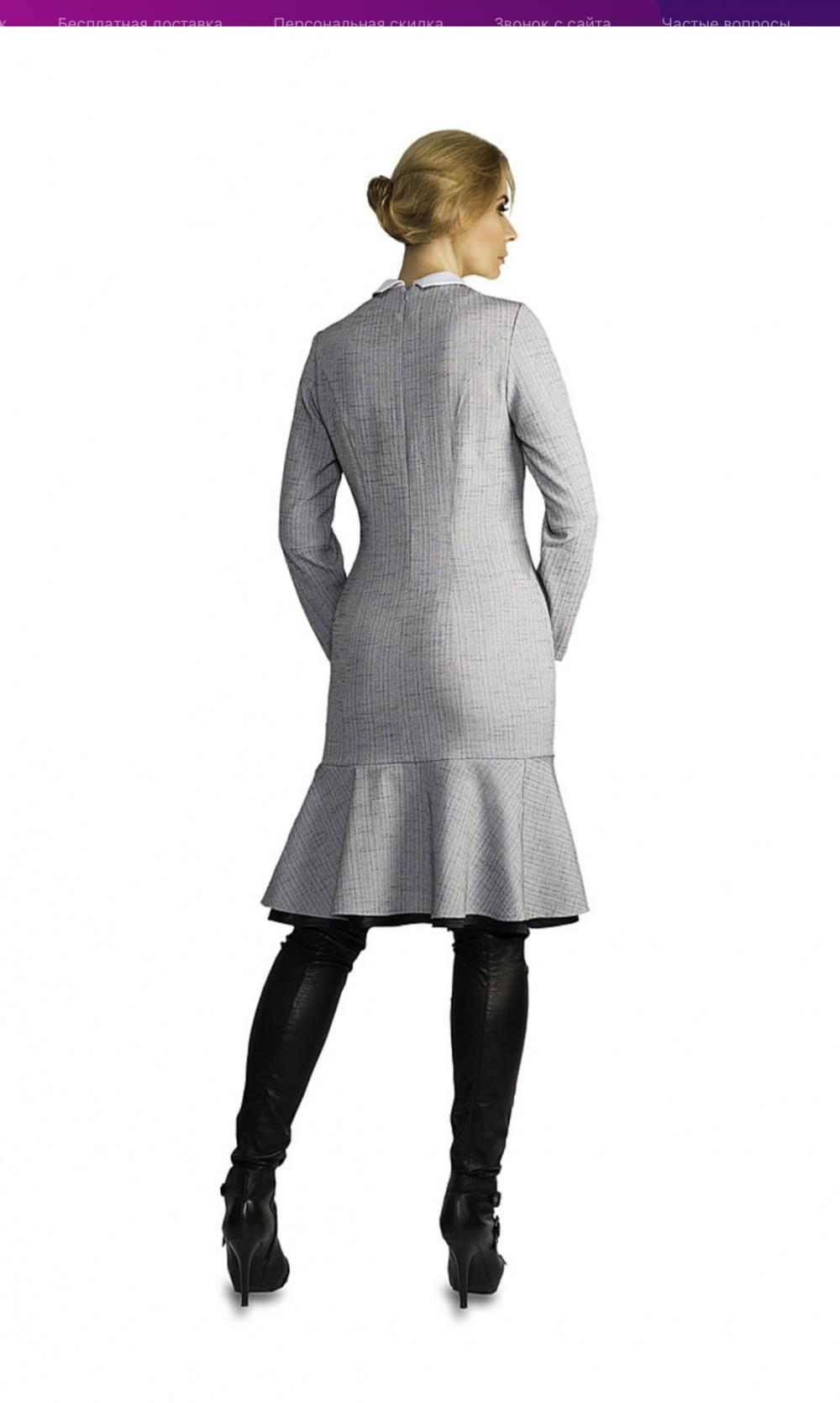 Платье БрендCLEVER woman размер 50 52 XL XXL