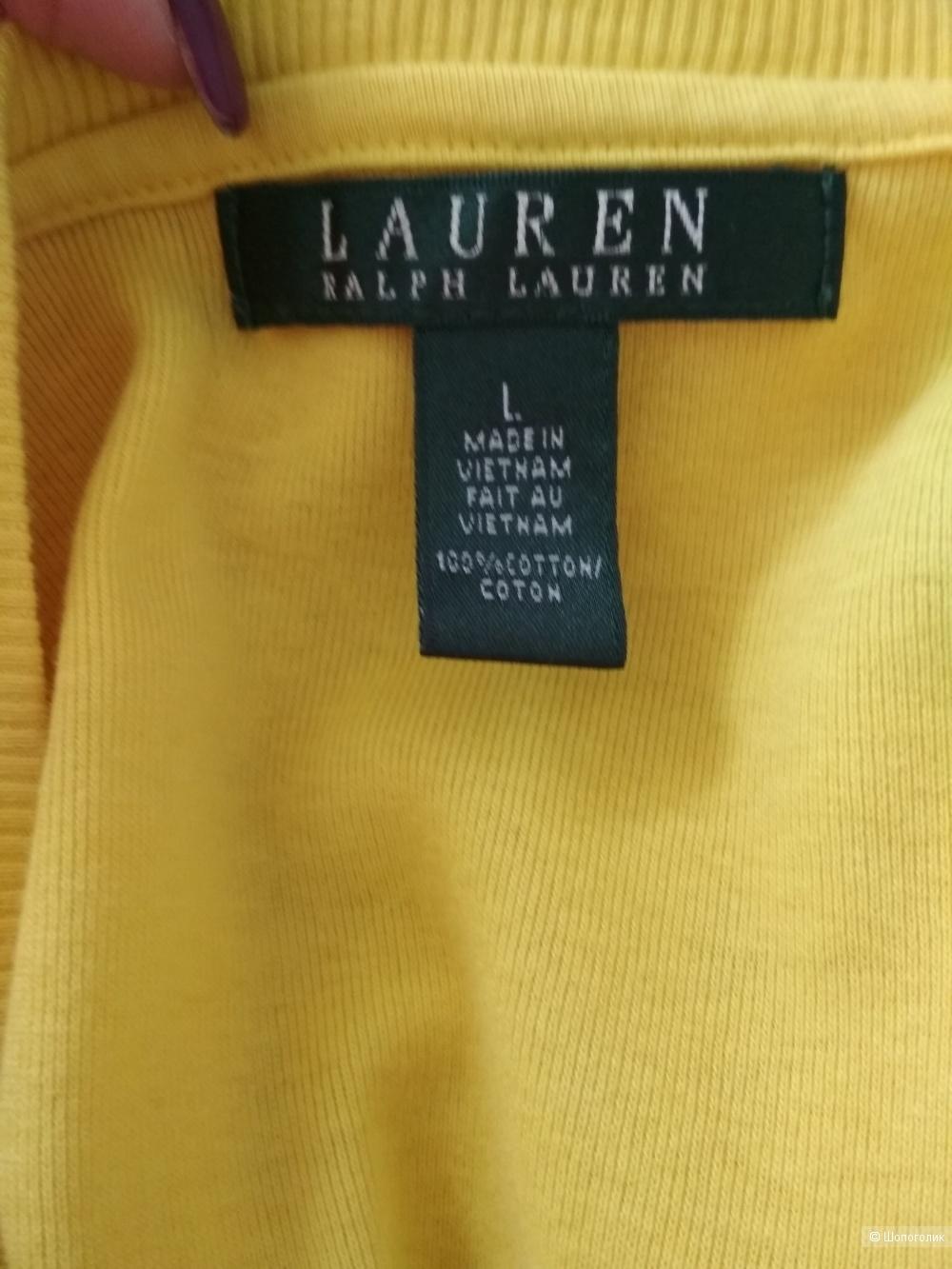 Хлопковая футболка Ralph Lauren. р 46