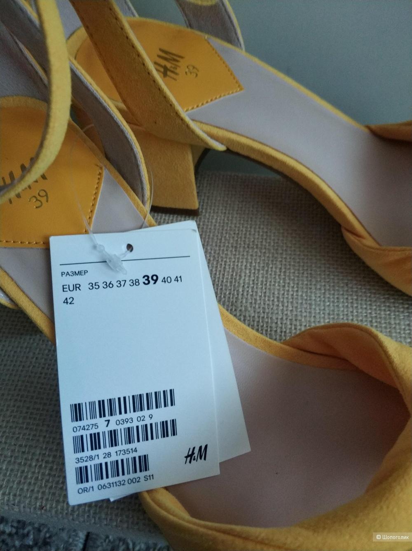 Босоножки H&M, 39