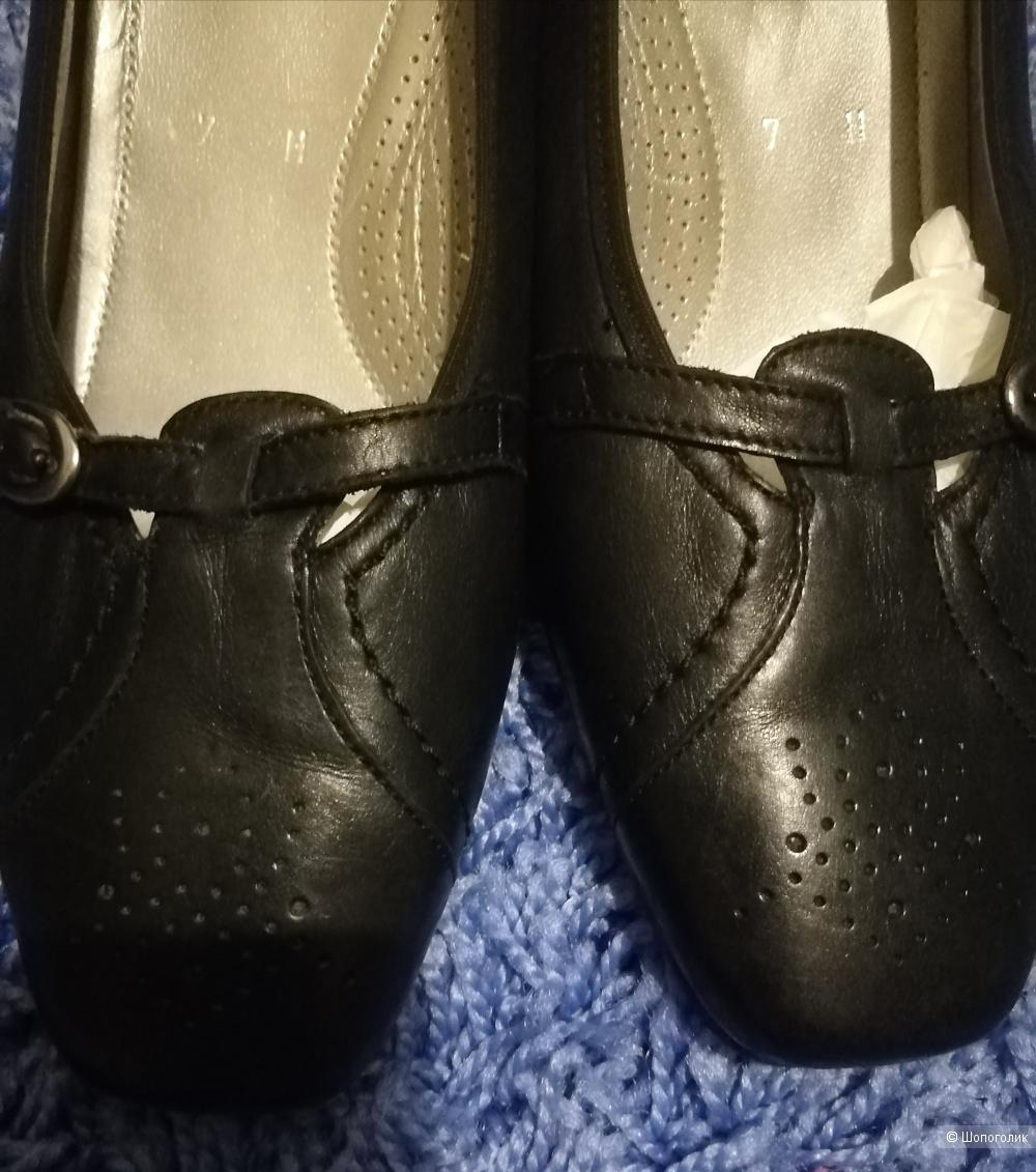 Кожаные туфли ara , размер 6,5 (40)