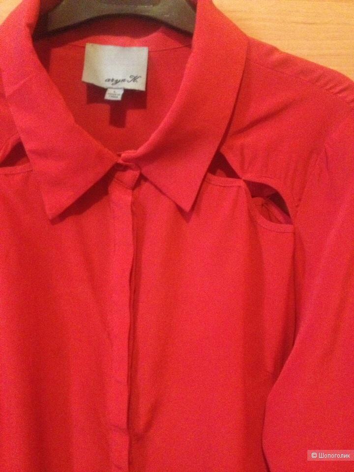Шелковая блузка Aryn K, размер L