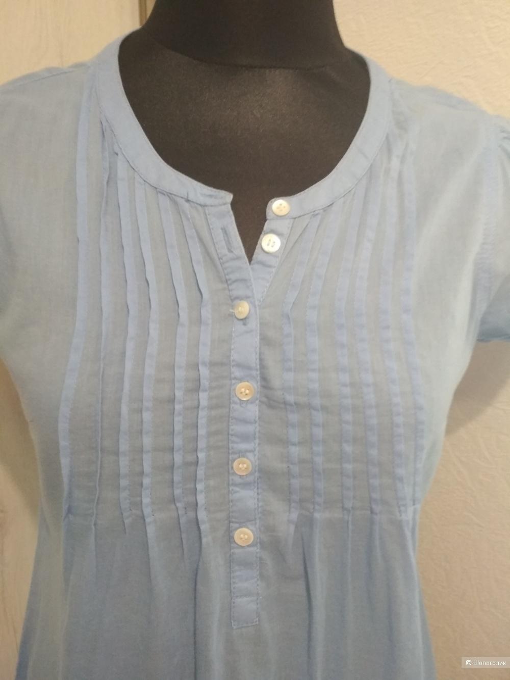 Хлопковая блуза l.O.G.G., р. 44-46