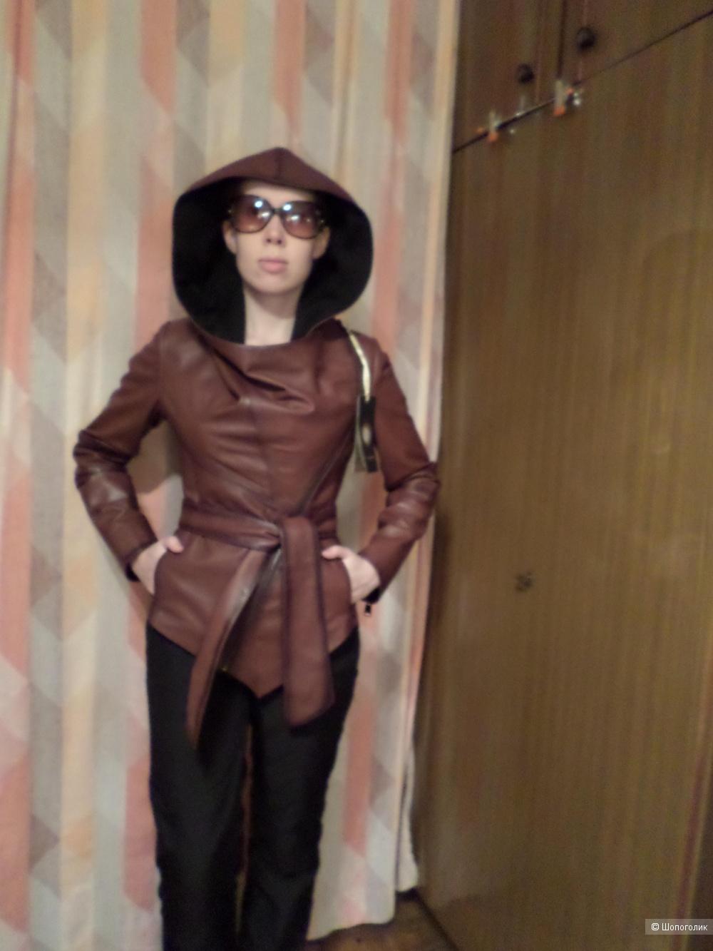 Куртка кожаная Franco di Marco на размер RU 44, EU 38, S/M