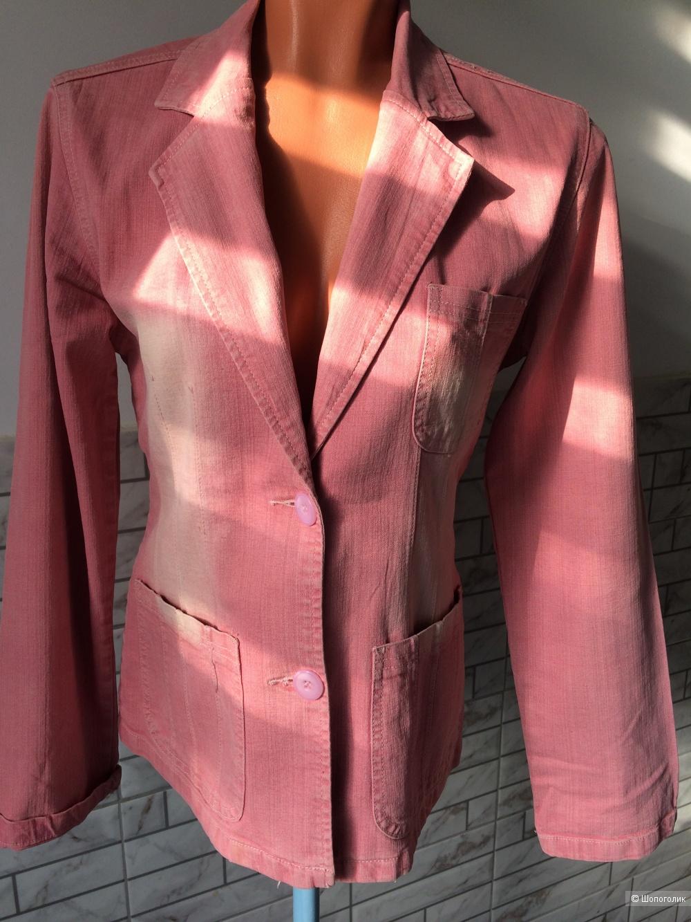 Джинсовый пиджак Lindong  М - L.