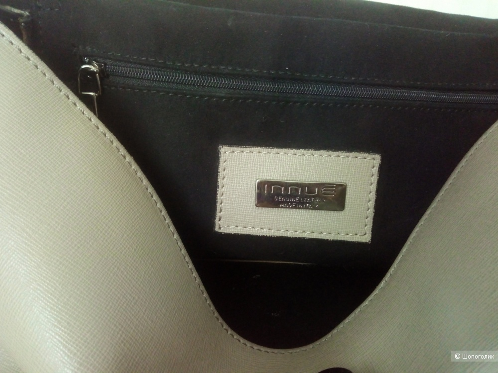 Кожаная сумка INNUE, средний размер