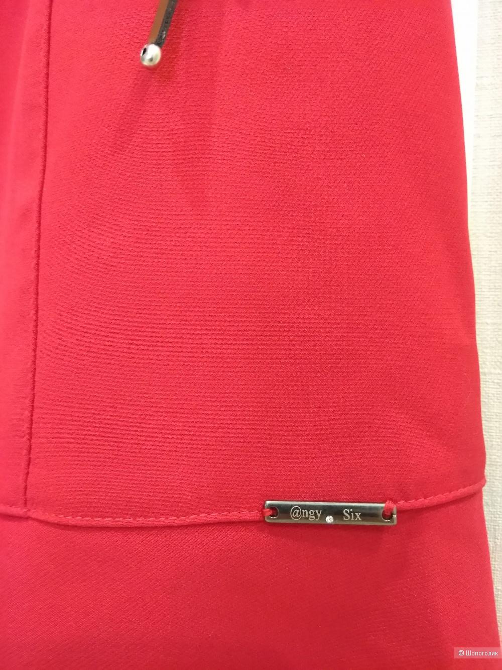 Красное платье Angy Six, размер XS