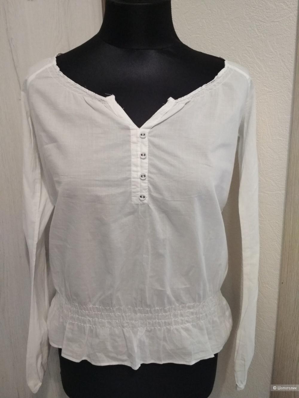 Хлопковая блуза Esprit, р. 44-46