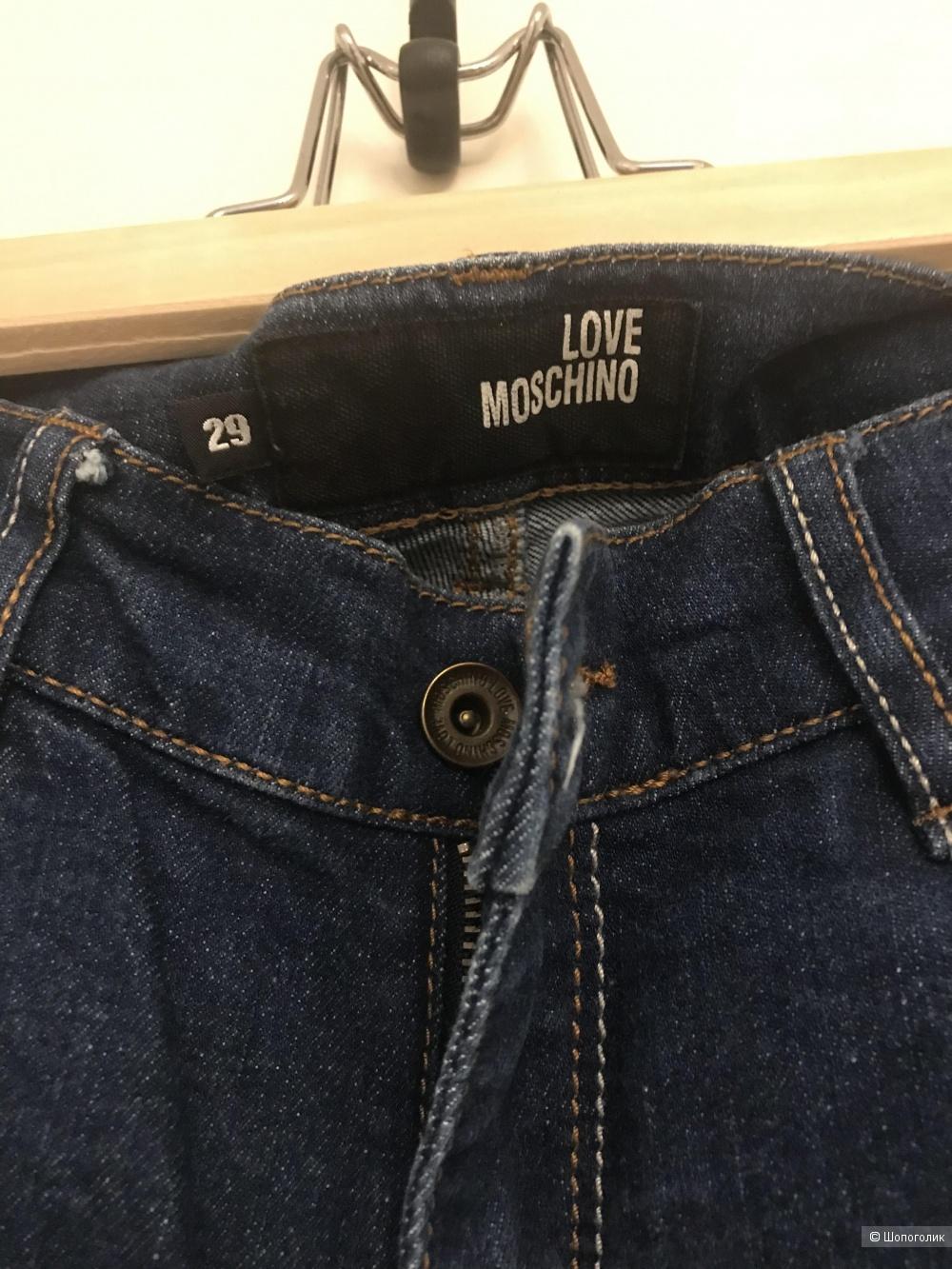 Love mochino джинсы 29 размер