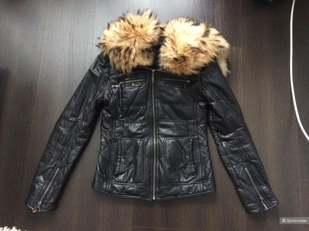 Курточка кожаная Fani 42-44 размер