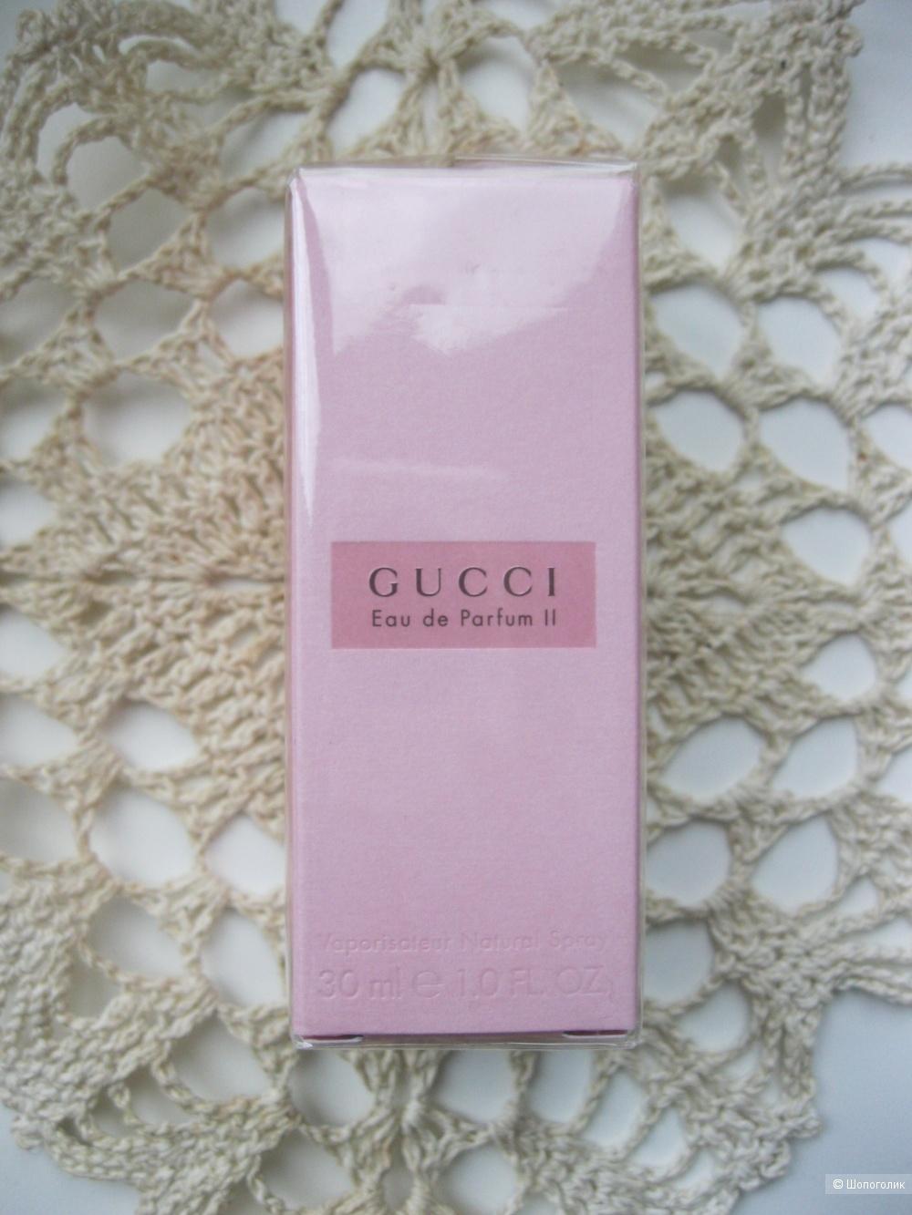 """Парфюмированная вода """"Eau de Parfum II Gucci"""" 30 мл"""