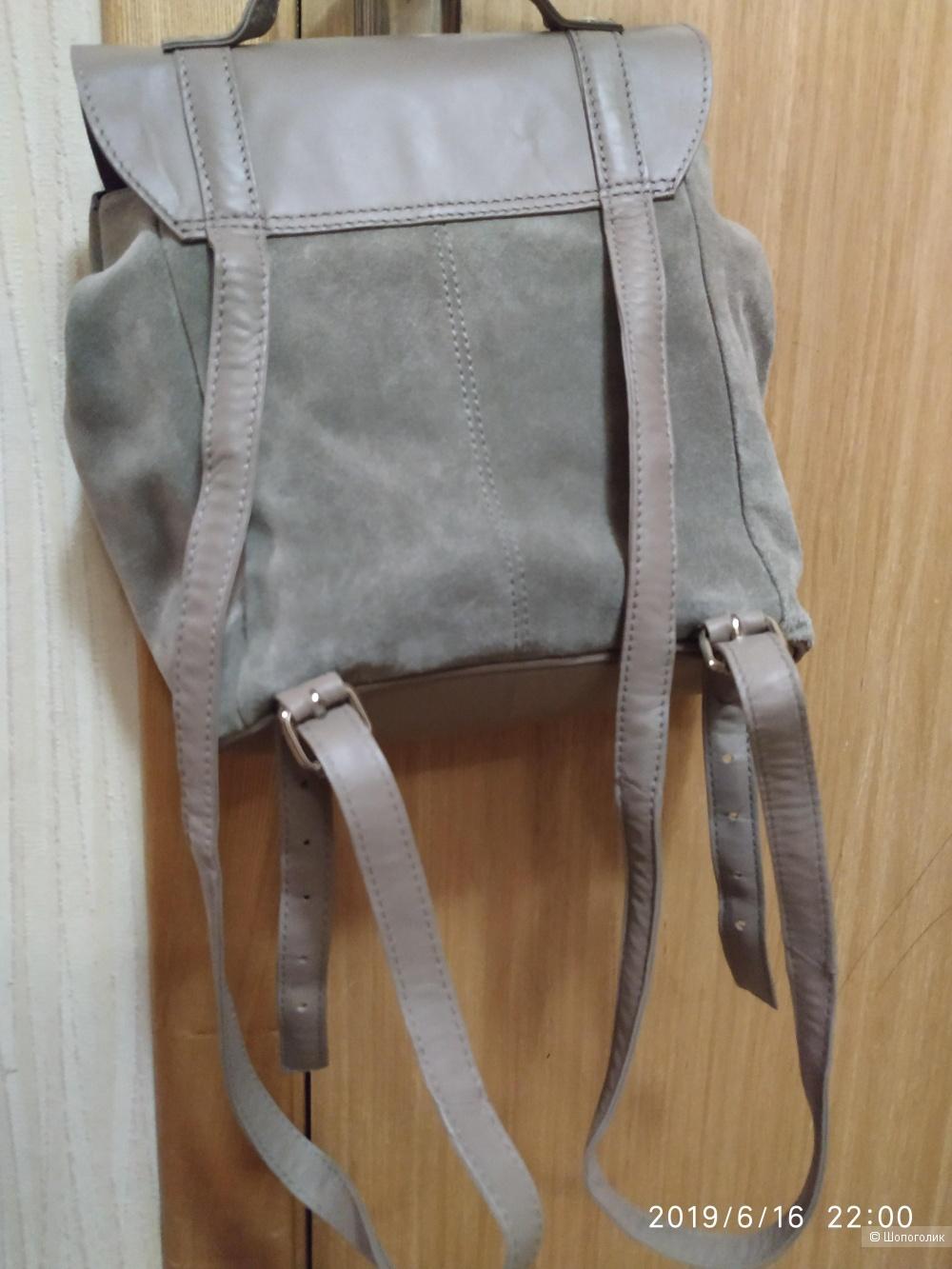 Рюкзак натуральная кожа/замша ASOS