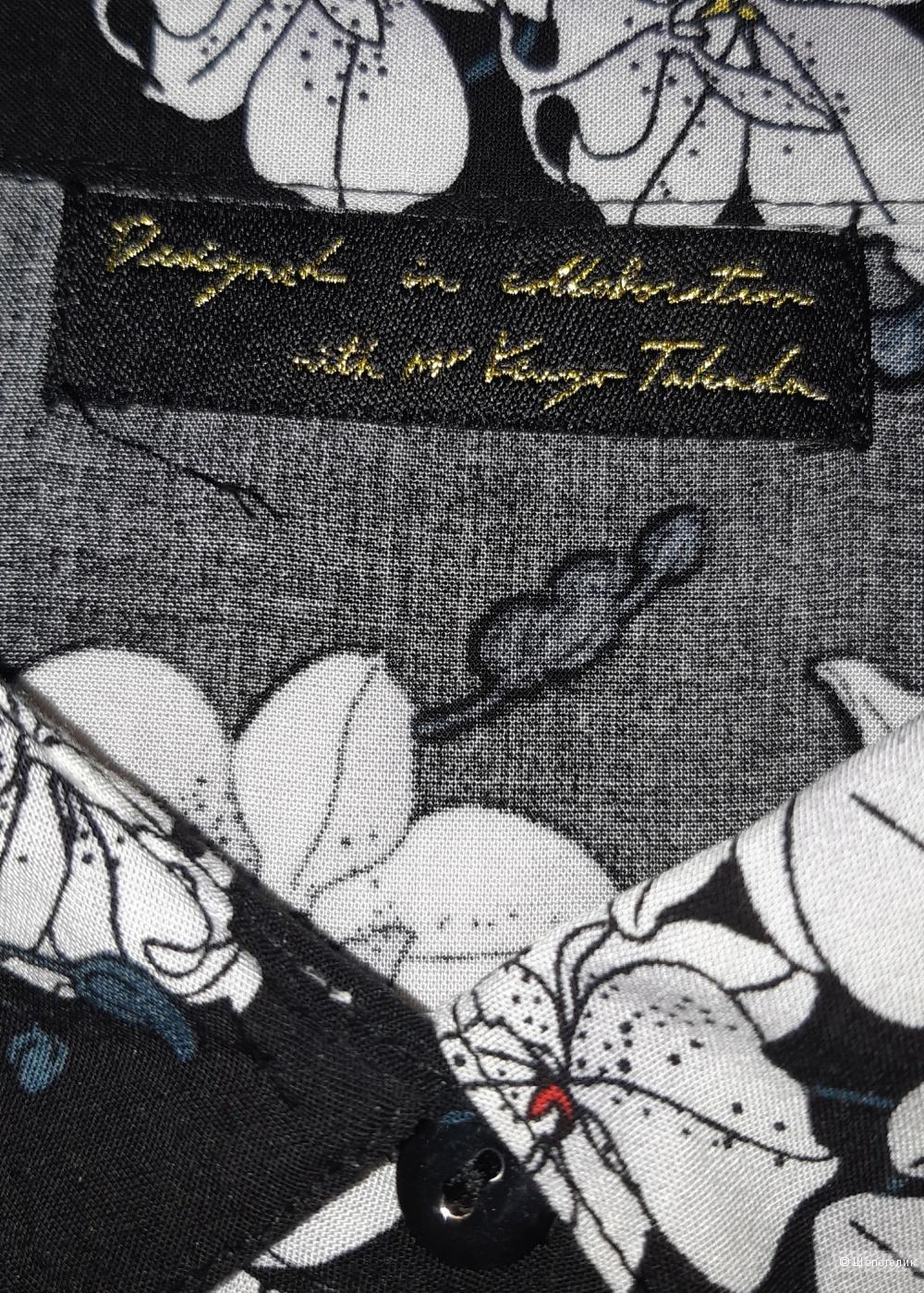 Платье-рубашка avon by kenzo takada, размер 46+-
