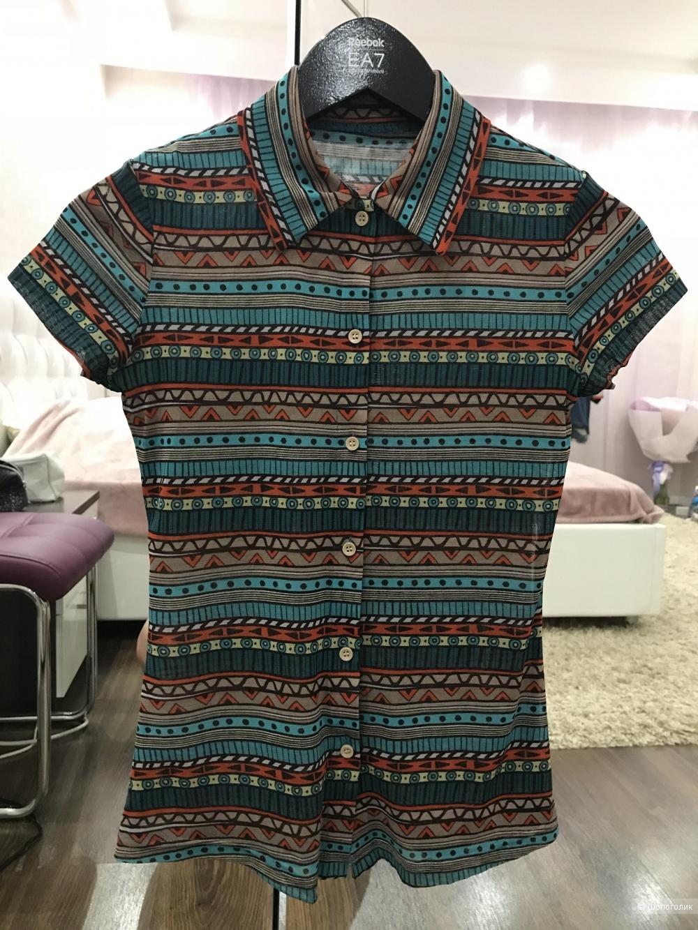 Летняя рубашка Oodji,  размер S