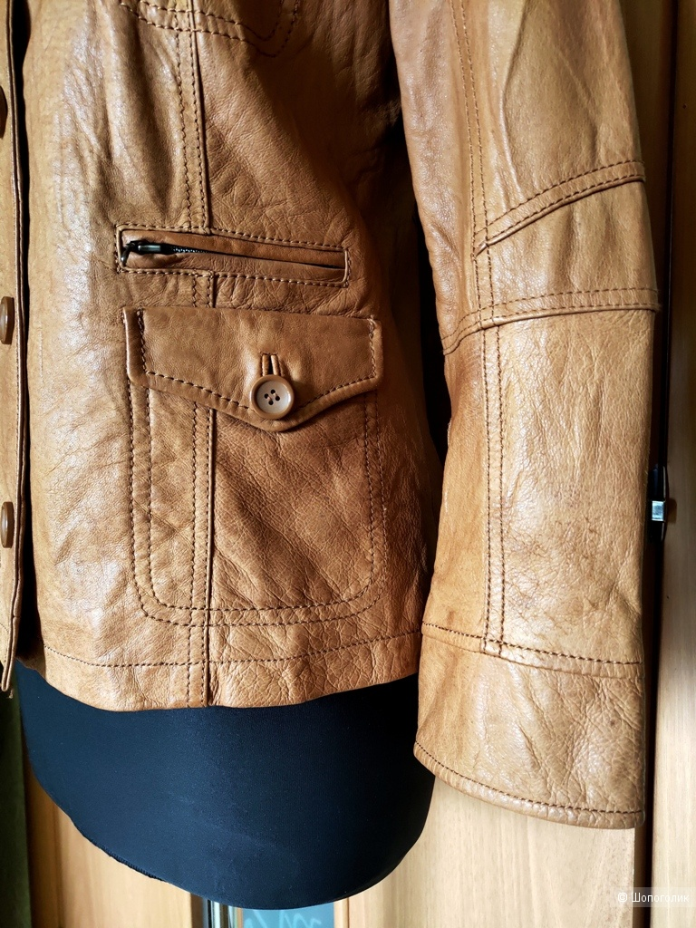 Куртка кожаная S.Oliver размер 44