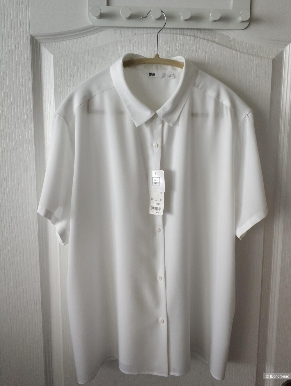 Блузка из вискозы Uniqlo, L