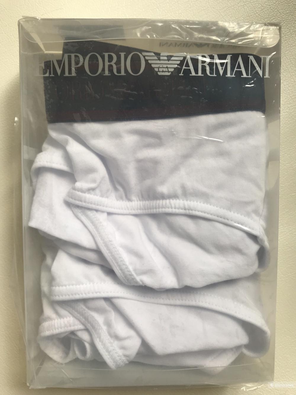 Комплект из 2-х трусов-бриф EMPORIO ARMANI размер L