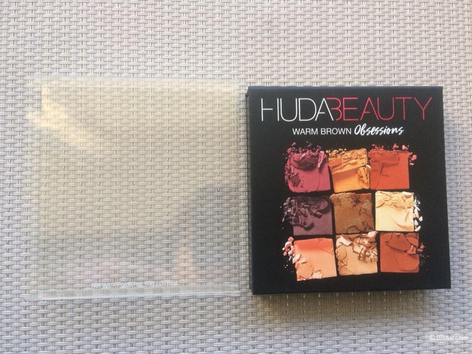 Палетка теней Huda Beauty Warm Brown Obsessions,10гр