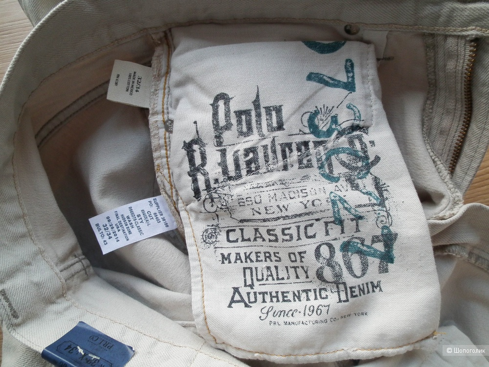 Мужские джинсы Ralph Lauren 32/34