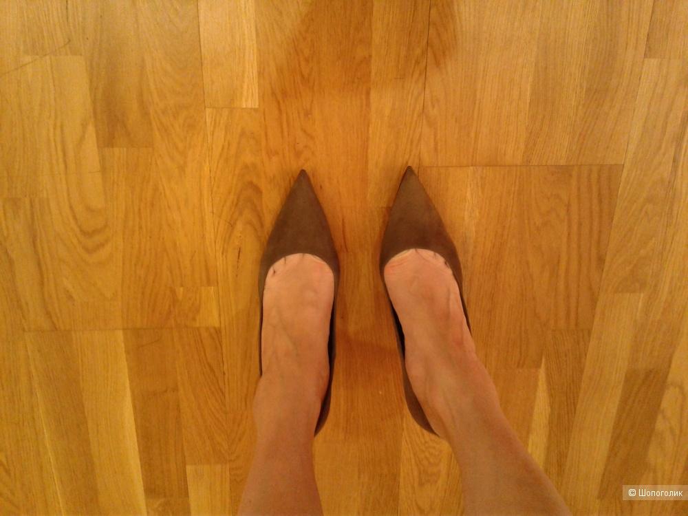 Туфли замшевые Mano 38 размер