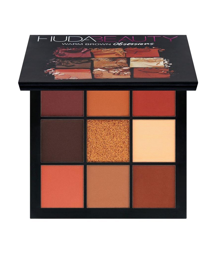 Палетка теней HUDA BEAUTY Warm Brown Obsessions Palette ( 10g )