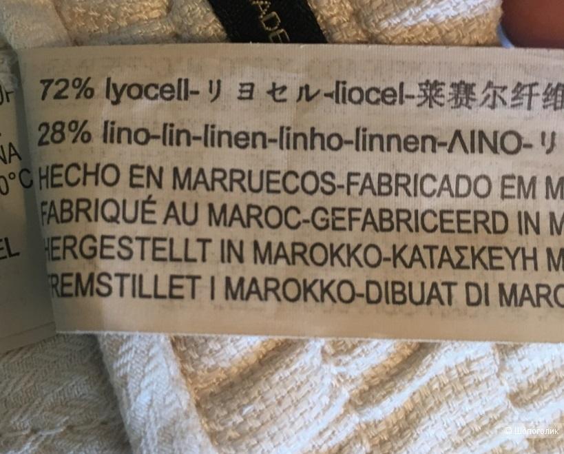 Льняные джоггеры  Massimo Dutti,размер eu 36