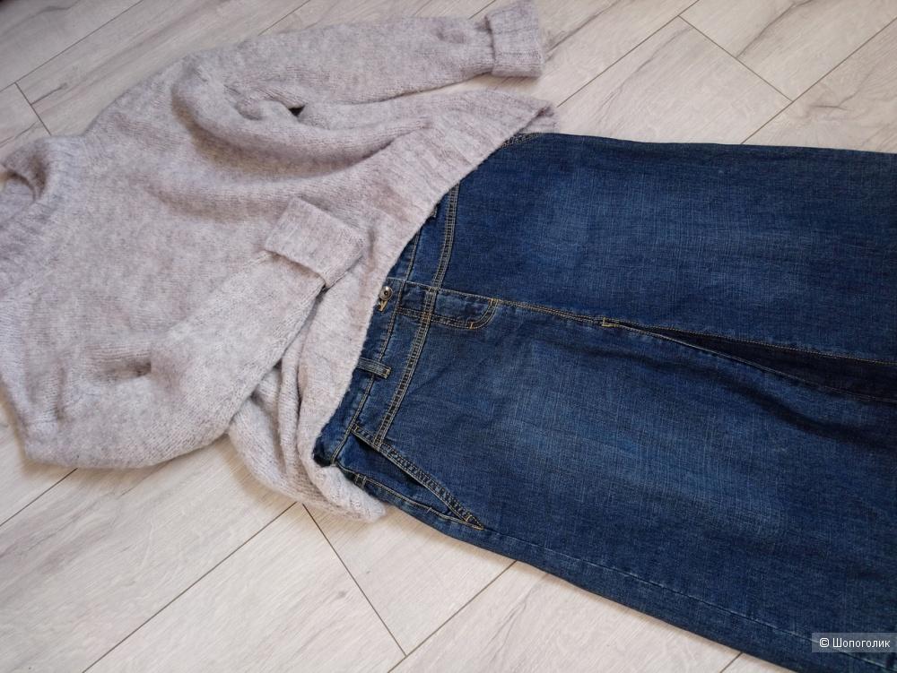 Сет-Джинсовая юбка Esprit и футболка Zara, размер M