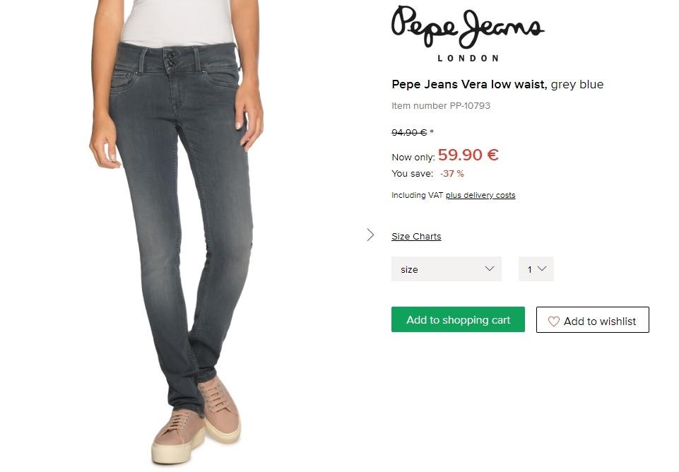 Джинсы, Pepe Jeans, W28\L32