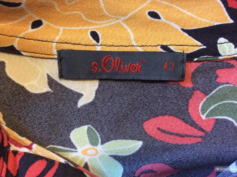 Блузка S'Oliver р.42 (на 44-48)
