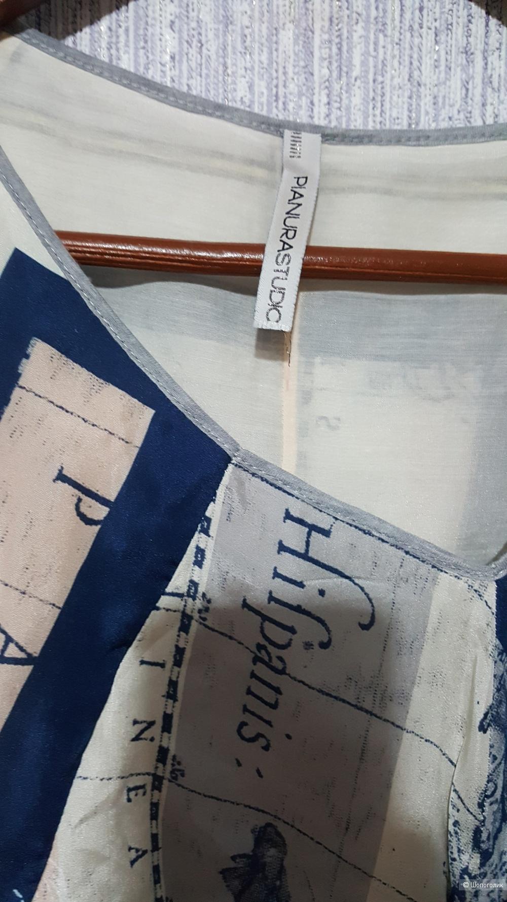 Шелковое платье PIANURASTUDIO на 42-44