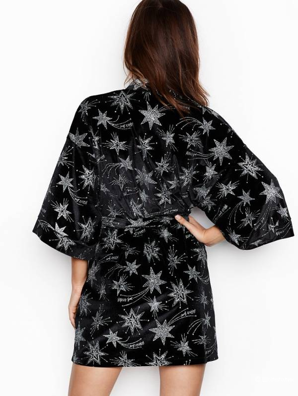 Халат Victoria's Secret Velvet Star Kimono XS