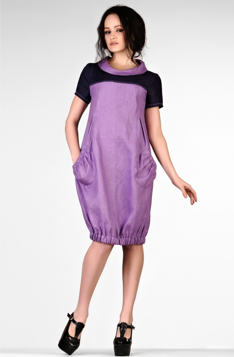 Хлопковое платье-баллон Desigual, р. 44-46
