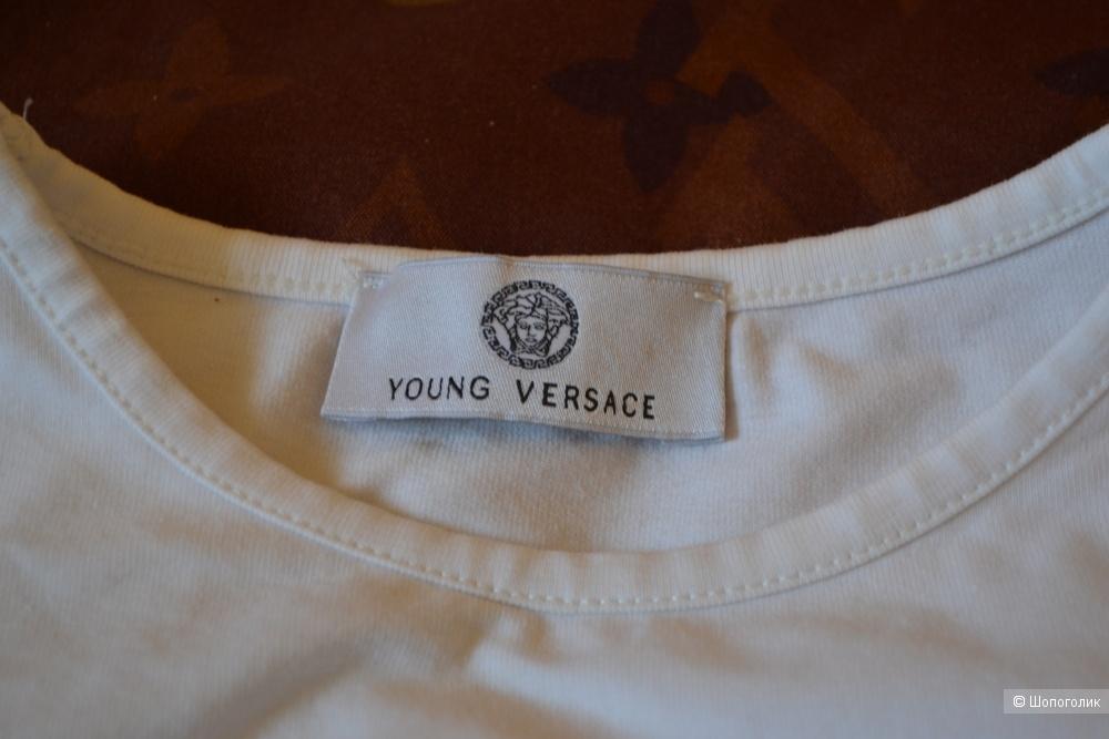 Лонгслив Young Versace на девочек 7-8 лет