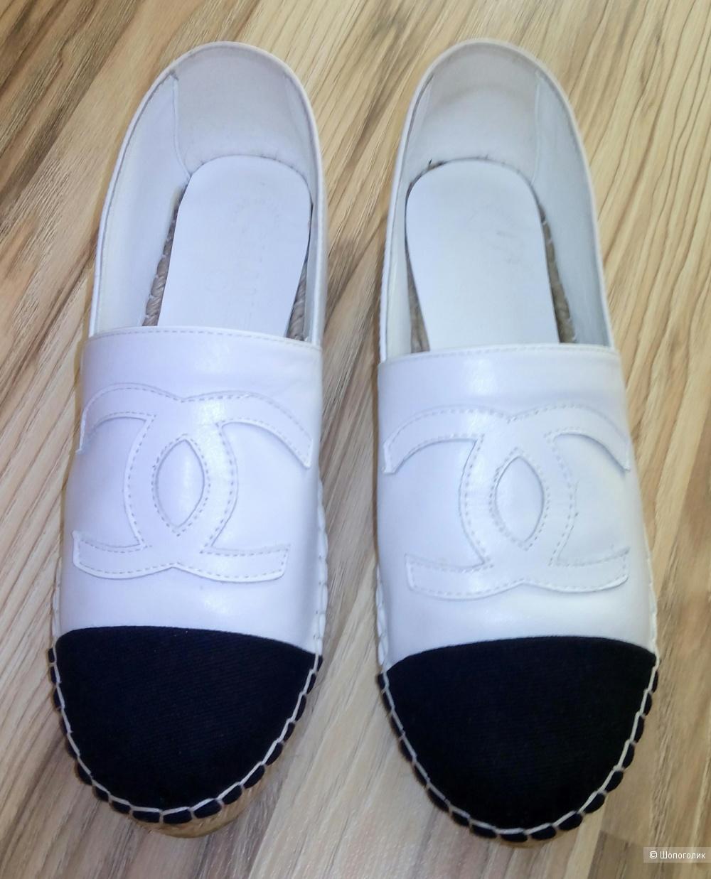 Эспадрильи Chanel 38-38,5 размер