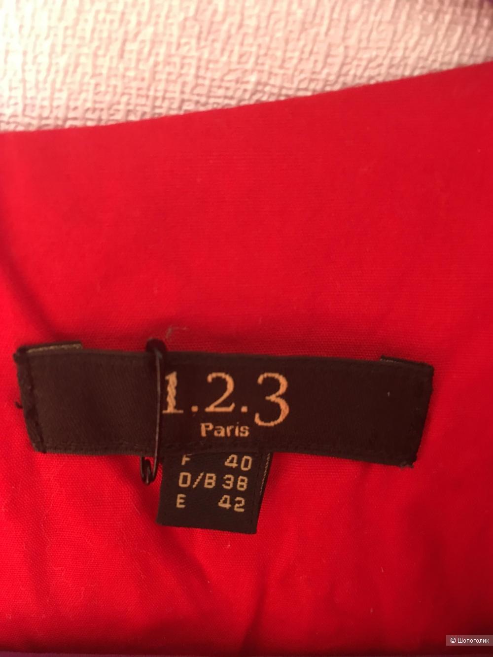 Платье 1.2.3 Paris, размер франц.40, рус. 44-46, М
