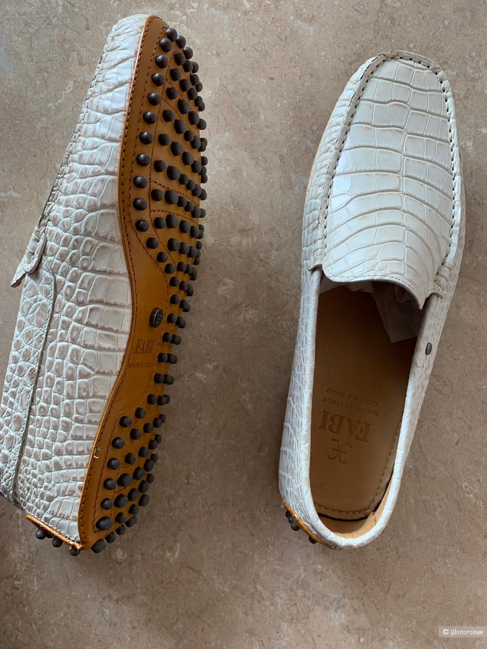 Мокасины-туфли Fabi, размер 41