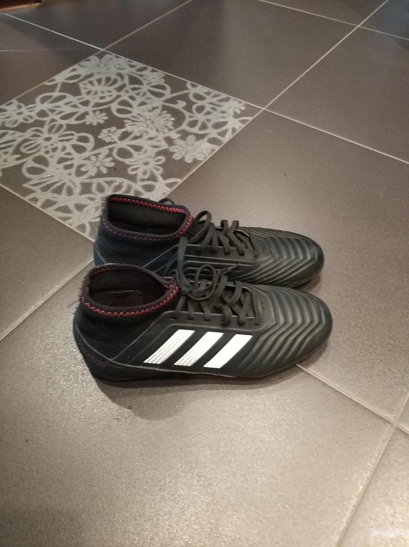 Бутсы футбольные Adidas размер 34