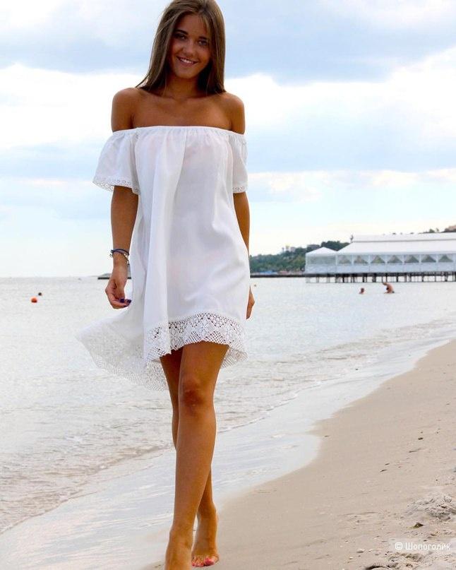 Платье-туника из хлопкового шитья Terra di Siena, рус.размер 42-44