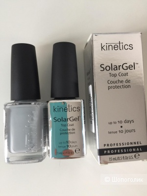 "Kinetics Верхнее покрытие ""SolarGel Top Coat"" и лак Kinetics Ivory Night"