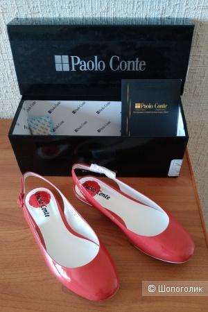 Красные балетки от PAOLO CONTE размер 35