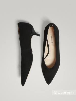 Туфли лодочки Massimo Dutti размер 38 на 37