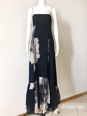Шелковое платье ZARA BASIC, размер S
