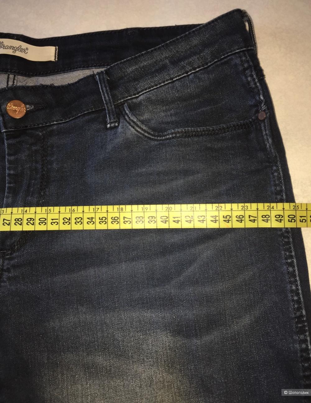 Джинсы Wrangler размер 32/34 наш 52