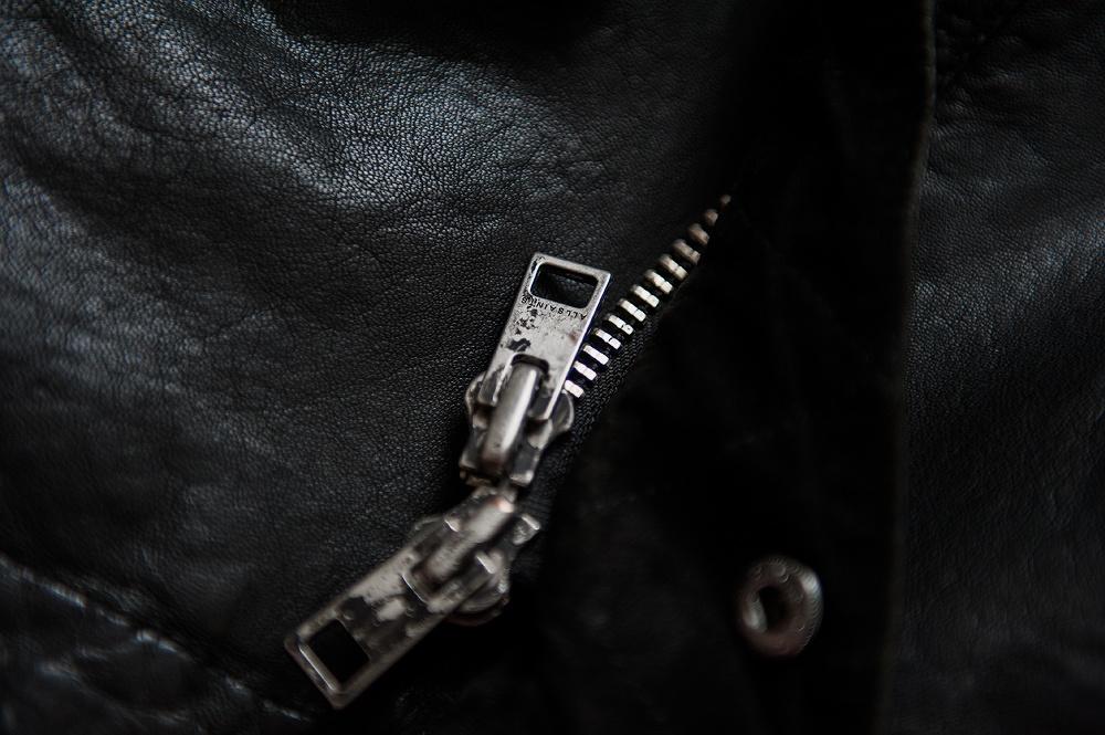 Мужская кожаная куртка AllSaints р.М