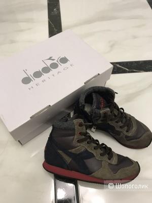 Ботинки Diadora р.29(17,5см)