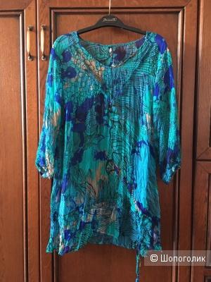 Блузка Maxi blue размер евро 42/44