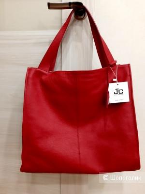 Сумка натуральная кожа J&C JACKYCELINE, шопер